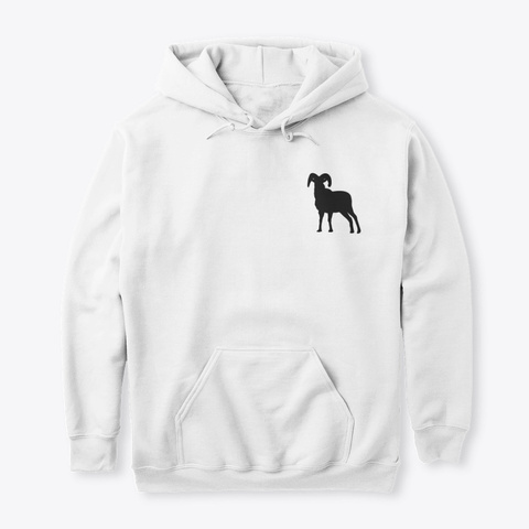 The Goats White Sweatshirt Front