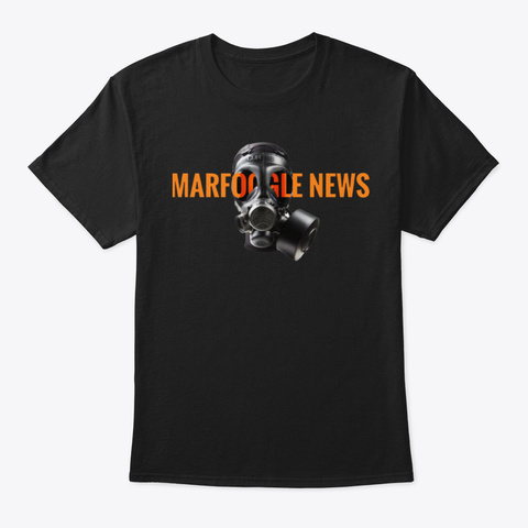 Support Marf Black T-Shirt Front