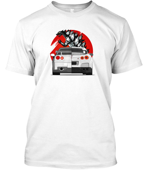 Buster White T-Shirt Front