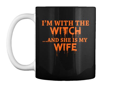 Funny Halloween Couple Mug Black Maglietta Front