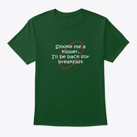 Red Dwarf Kipper Fan Art Deep Forest T-Shirt Front