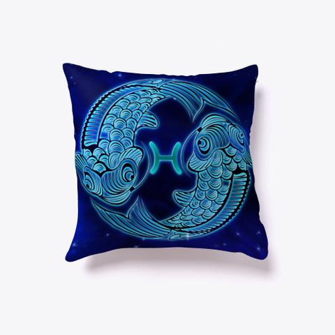 Pisces Zodiac Pillow Standard T-Shirt Front