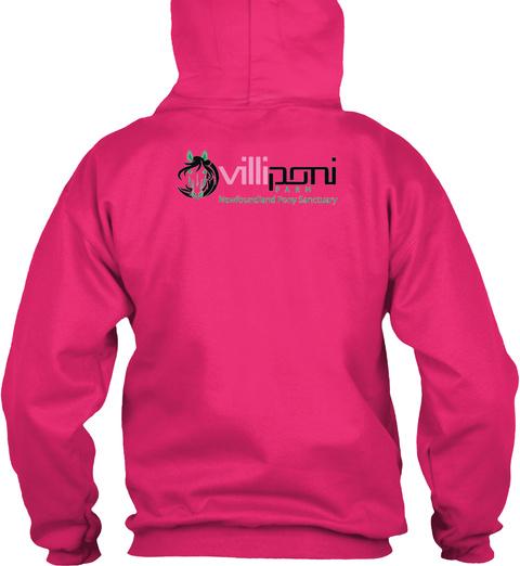 Villi Poni Farm  Heliconia Sweatshirt Back