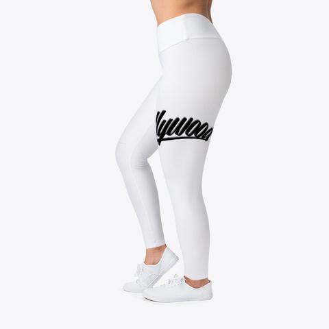 Internet Hollywood Woman's  Leggings Standard T-Shirt Left