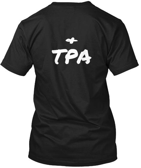 & Tpa Black T-Shirt Back