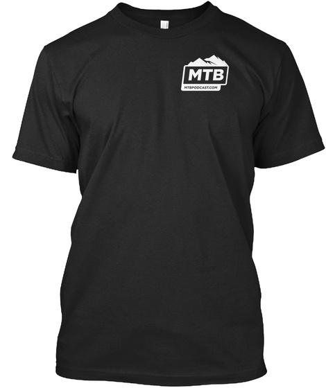 Mtb Vintage Black T-Shirt Front