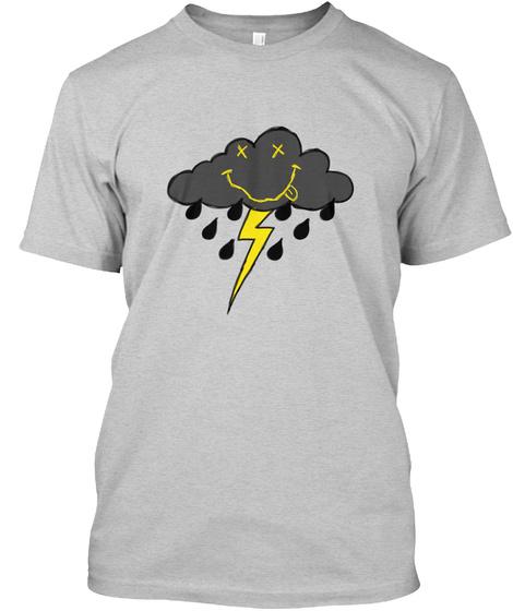 Storm Cloud Light Steel T-Shirt Front