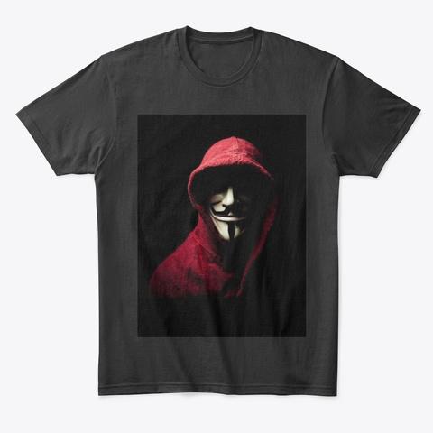 New Merch Black T-Shirt Front