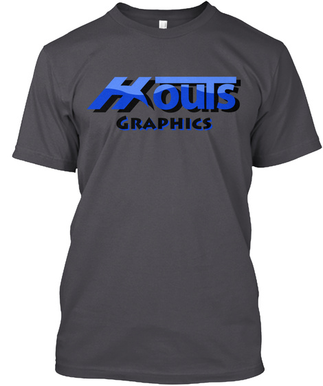 Houts Graphics Expert Seo Services Asphalt T-Shirt Front