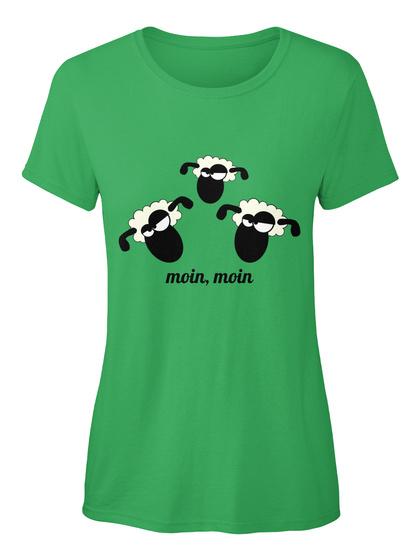 Moin, Moin Kelly Damen T-Shirt Front