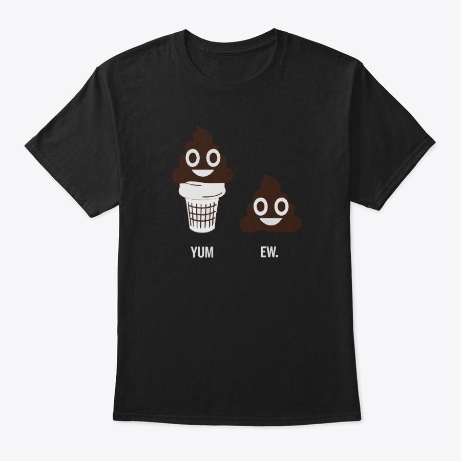 Yum Ew Poop Emoji Shirts Unisex Tshirt