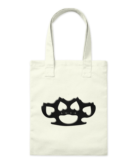 Love Pains Tote Bag Natural T-Shirt Front