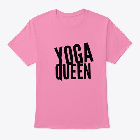 Yoga Queen Pink T-Shirt Front