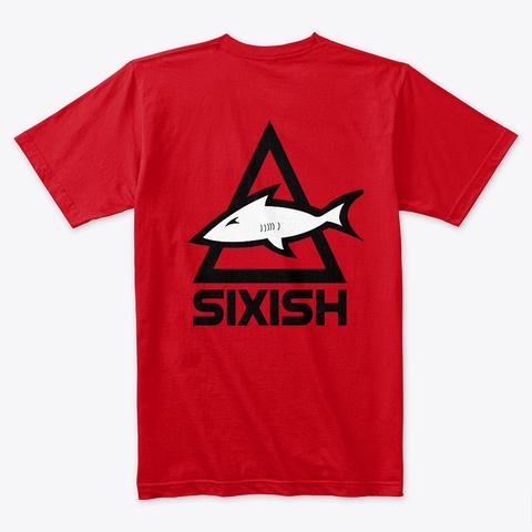 I'm A Playa. Red T-Shirt Back