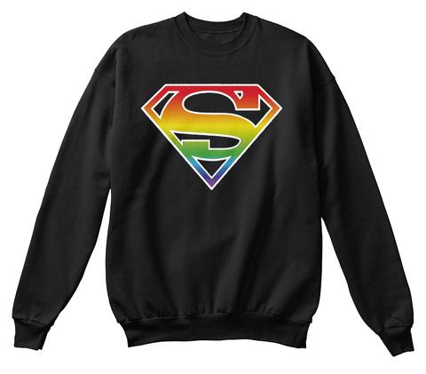 Oi Jet Black Sweatshirt Front