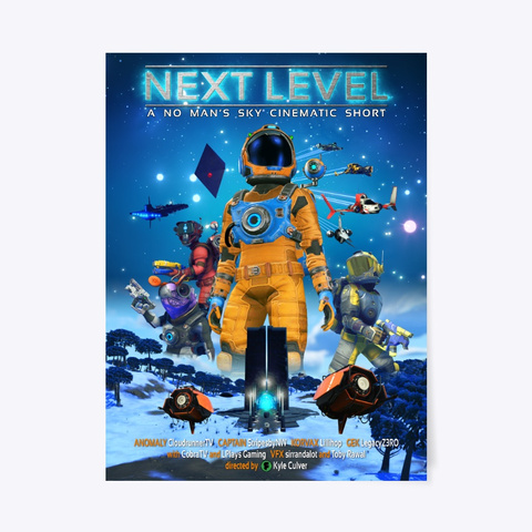 Next Level Poster Standard T-Shirt Front