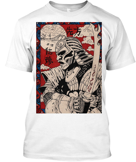 The Broken Blade White T-Shirt Front