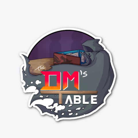 The Dm's Table Logo Standard T-Shirt Front