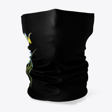 Spanish Iris Pierre Joseph Redoute Edit Black T-Shirt Front