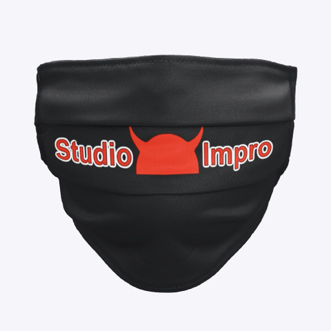 Studioimpro Black T-Shirt Front