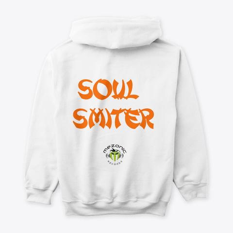 Soul Smiter White Sweatshirt Back