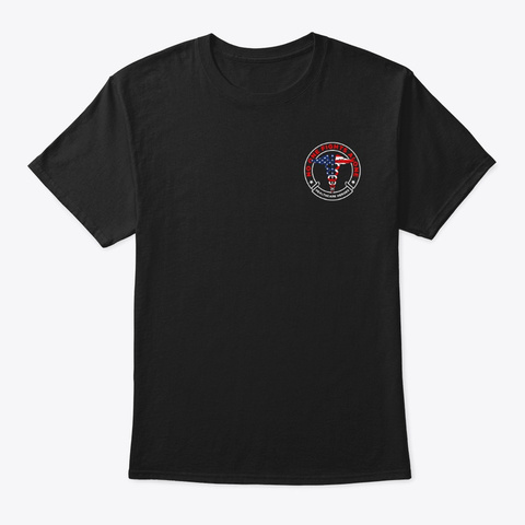 Covid Relief Fundraiser  Black T-Shirt Front