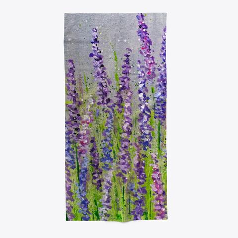 Lavender Flower Fields Standard T-Shirt Front