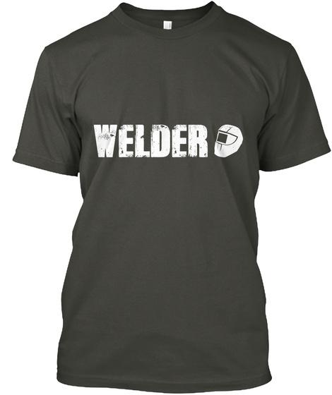 Welder Smoke Gray T-Shirt Front