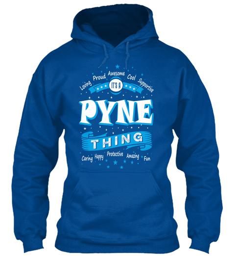 Name Pyne Christmas Weather Royal T-Shirt Front