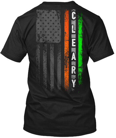 Cleary Black T-Shirt Back