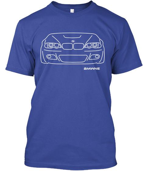 Bmwne Deep Royal T-Shirt Front