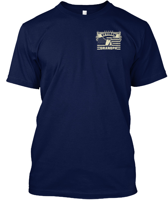 Latest-Veteran-Grandpa-I-M-Proud-To-Be-A-And-My-Oath-Hanes-Tagless-Tee-T-Shirt thumbnail 12