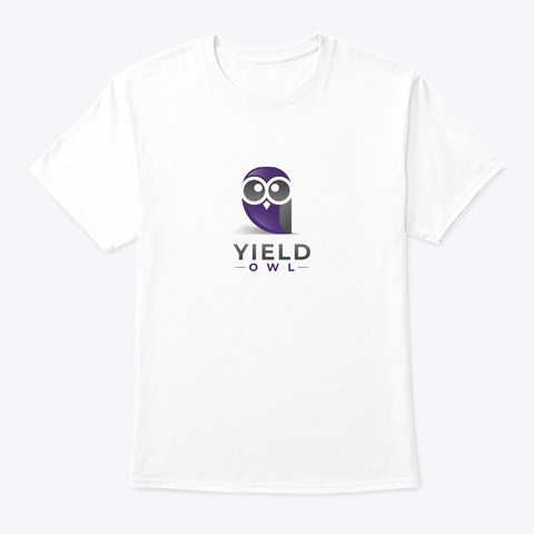 Yield Owl White T-Shirt Front