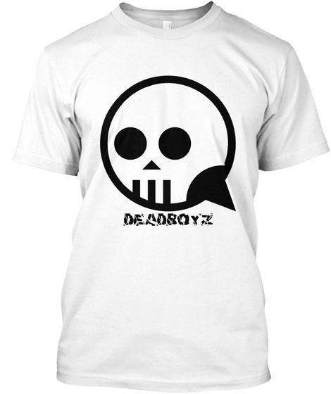 Deadboyz White T-Shirt Front
