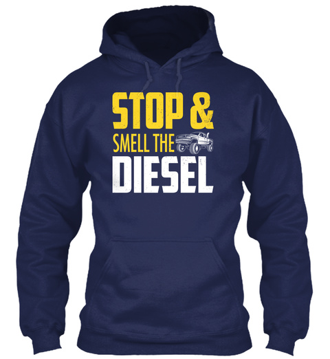 Stop & Smell The Diesel Navy Sweater Front
