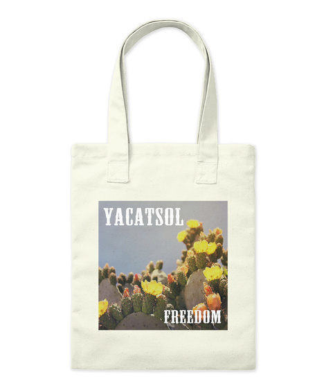 Yakatsol Freedom Natural Tote Bag Front