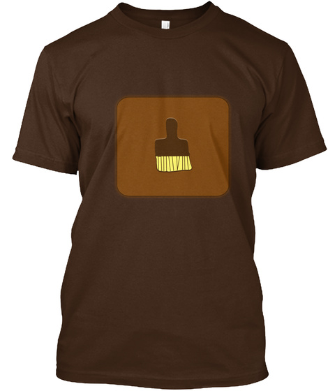 Twinlightenment   Inspiration Dark Chocolate T-Shirt Front