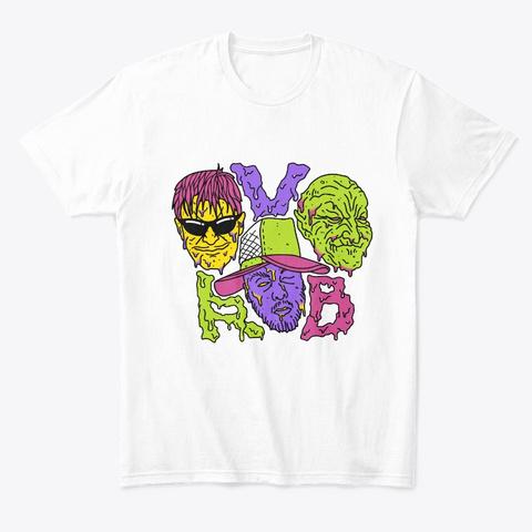 Rvb / Acid Style White T-Shirt Front
