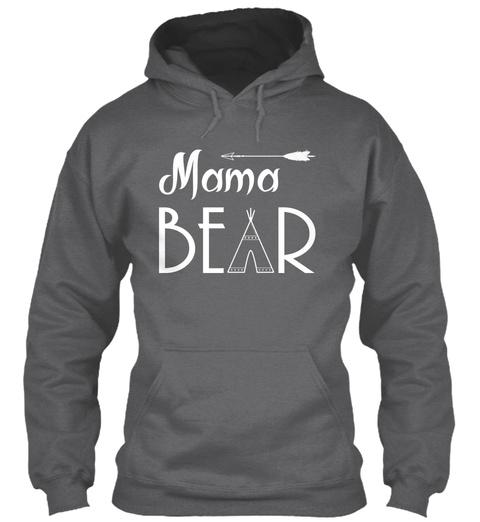 Mama Bear Dark Heather Sweatshirt Front