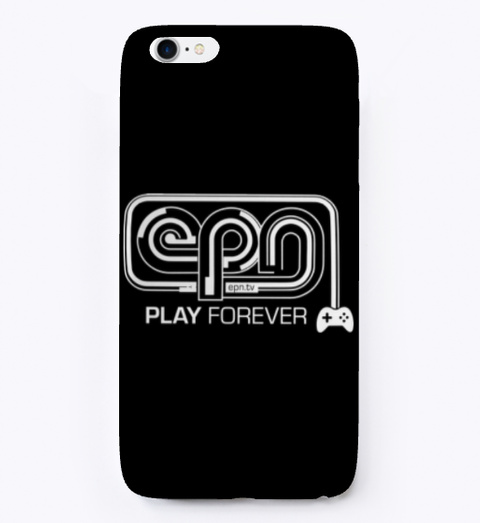 Official Epn Phone Case! Black T-Shirt Front