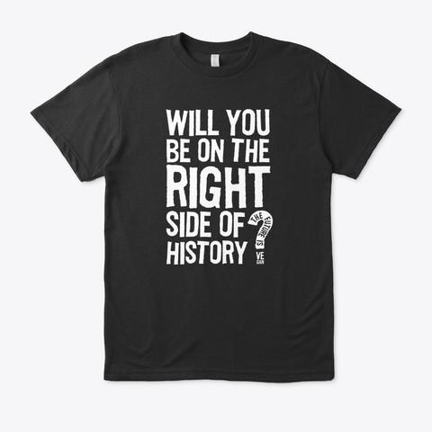 The Future Is Vegan Black T-Shirt Front