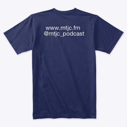 2020 Mtjc T Shirt Midnight Navy T-Shirt Back