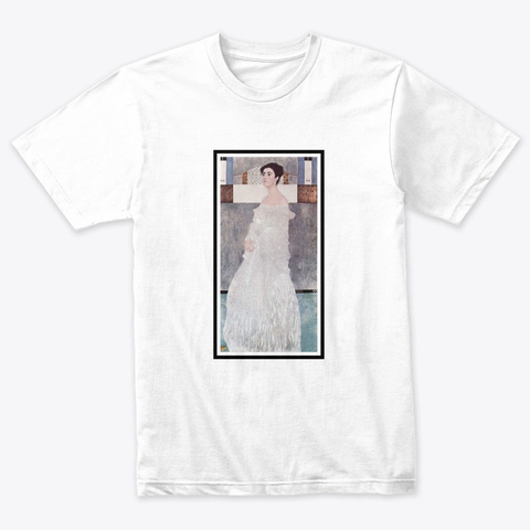 Art Movements, Symbolism Heather White T-Shirt Front