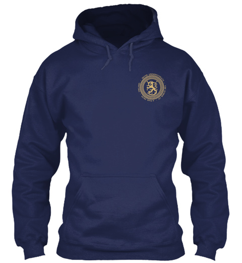 Man From Finland Navy Sweatshirt Front