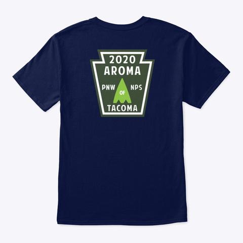 Aroma Of Tacoma Nps T Shirt No.4 Navy T-Shirt Back