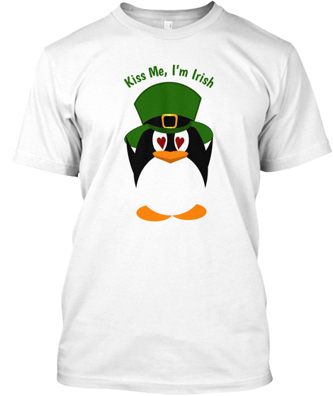 Kiss Me, I'm Irish Penguin