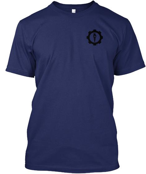 Basic Logo T Navy T-Shirt Front