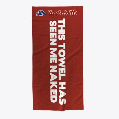 Bills Spicy Beach Towel Dark Red T-Shirt Front