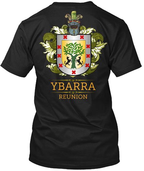 Ybarra Reunion Black T-Shirt Back