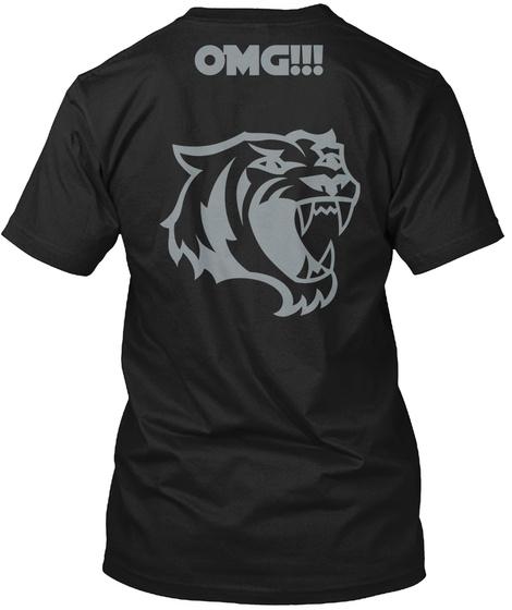 Omg!!! Black T-Shirt Back